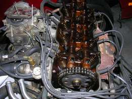 Nissan 2.4 z cylinder head + intake and carb