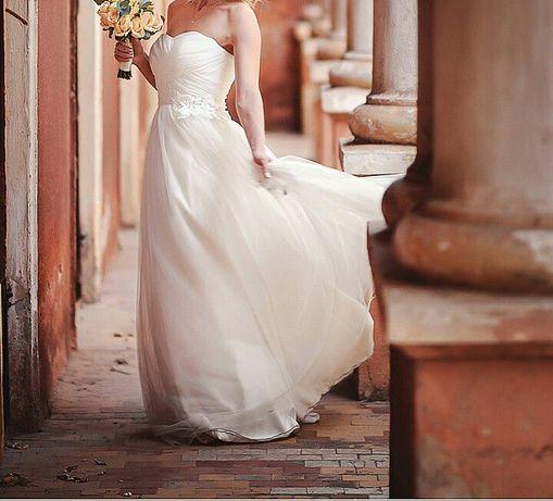Французское свадебное платье+ подъюбник в подарок Одеса - зображення 1 82639d0895720