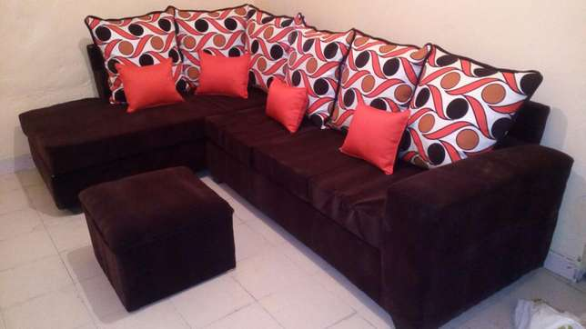 Sofa L seat six seater at a reasonable price Nakuru East - image 6