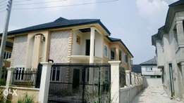 4 bedroom semi detached duplex for sale in sangotedo ajah