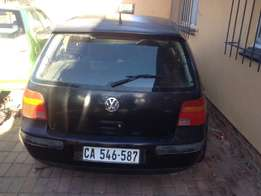 VW Golf 4 breaking up for spares