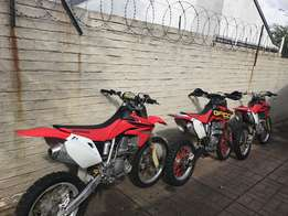 2008 Honda CRF150 R in good condition