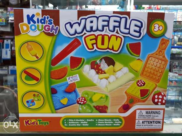 Waffle fun for kids toys