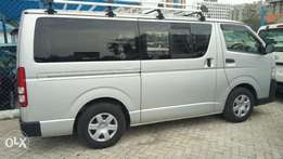 Toyota hiace 2010 model KCP