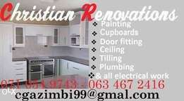 For all renovations and home improvements