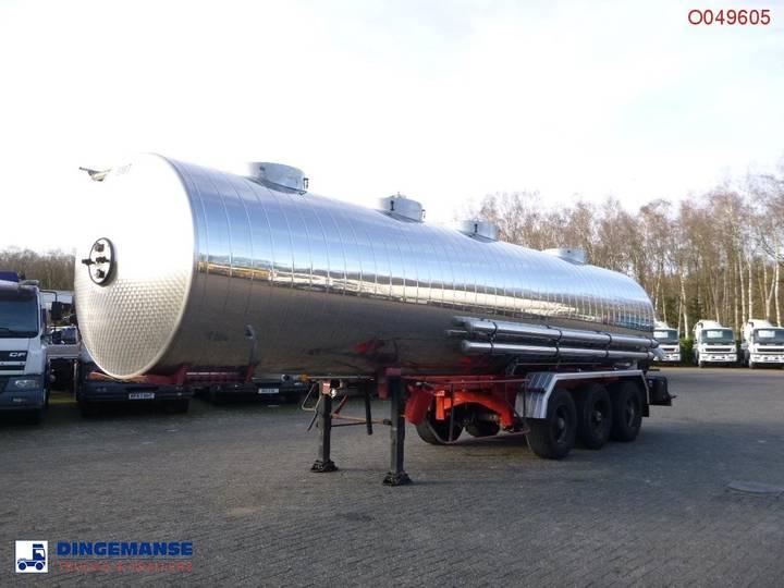 Magyar Food tank inox 29.4 m3 / 4 comp - 1992