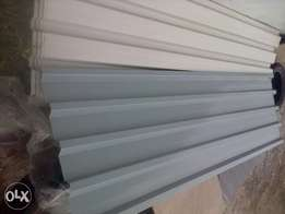 100 Roof sheets in colour 2.4 m at R125 ea