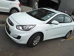 2014 hyundai accent 1.6 gl very well kept