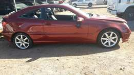 Stripping for Spares. Mercedes-Benz C230 Coupe