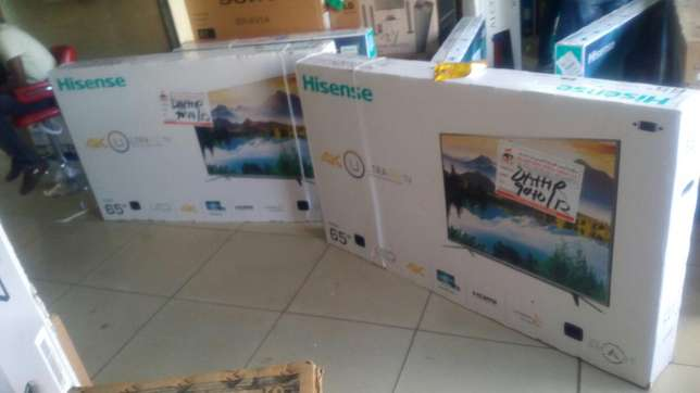 New brand hisense 65 inch smart 4k uhd smart tv in cbd shop call now Lanet - image 1