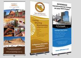 Are you interested in our Roll up Banners and Deliver to your premises