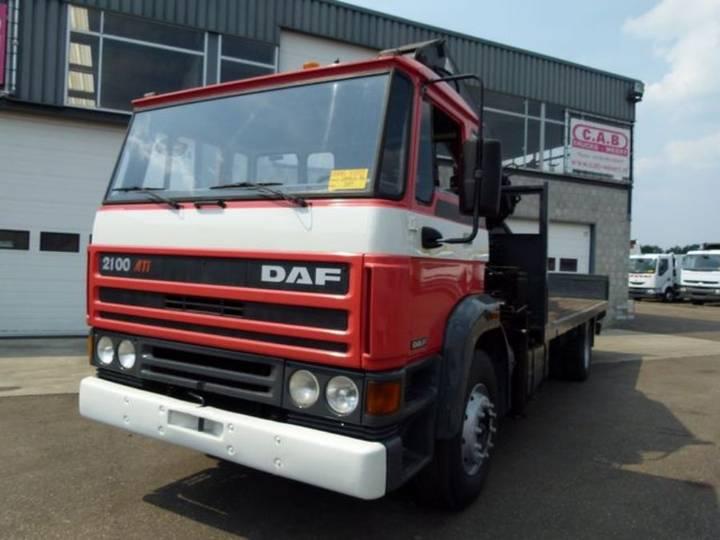 DAF 2100 - 4x2 - Crane Hiab190 - 1988