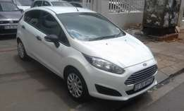 Ford fiesta 1.4 white in color 2014 model 69000km R135000 for sale