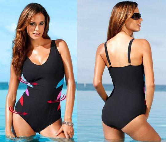 45f9bf042a9a6b Kostium kąpielowy strój wyszczuplający bikini 42/44/46/48/50 NOWY ...