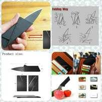 Sharp Credit Card Size Foldable Wallet Or Pocket Knife Dagger