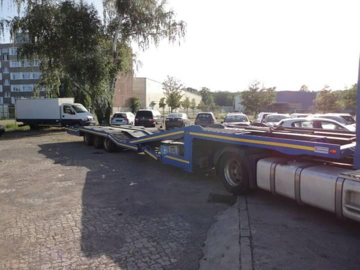 Draco 3 x lkw szm transporter, hydraulik, tüv - 1990