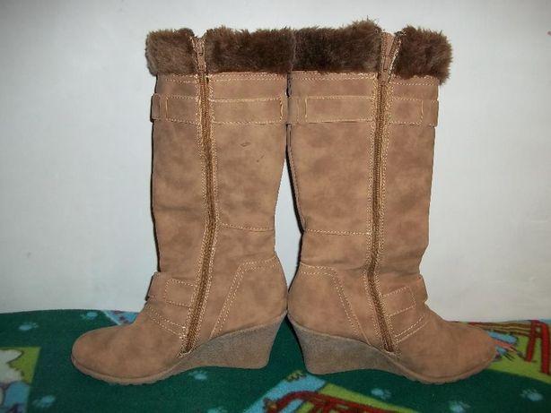 Жіночі замшеві чоботи демосезонні женские замшевые демисезонные сапоги  Батыев - изображение 2 b50a48023b1b2