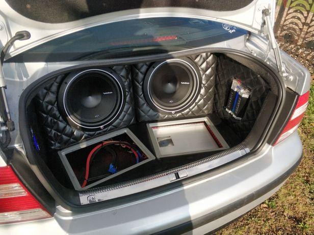 Masywnie Zabudowa car audio VW Bora Grzybowa Góra • OLX.pl XC25
