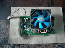 FORZA GEFORCE GTS 250. With upgraded fan.