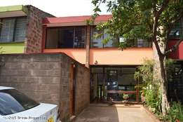 Maisonette to let in Kilimani for office