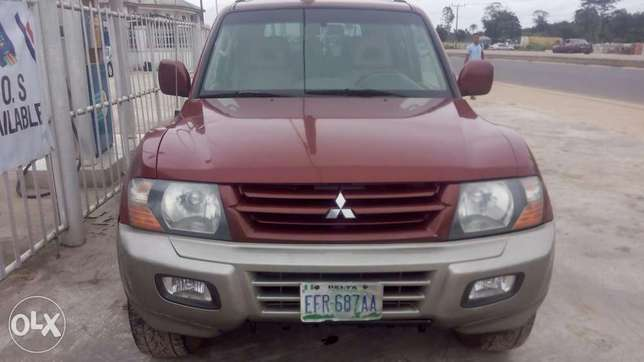 Neat 2002 Mitsubishi Montero For Giveaway Port Harcourt - image 3