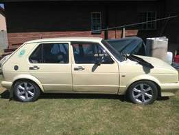 1989 city golf for sale project car