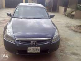 Registered honda Accord 2005