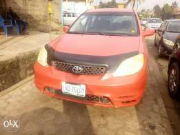 Toyota matrix Used 2003model for sale