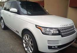 Almost new tokunbo 2016 Range Rover Vogue