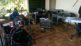 Back line For Hire, Pearl JazzDrum, Roland Combo, Messa Engineerin
