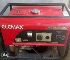 Japanese Elemax 7.5 kva Generator for Sale