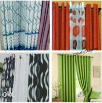Curtains, Curtain Rods and sheers