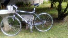 Raleigh hybrid bike in very good cond