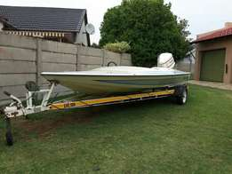 19ft Raven boat with 235HP Motor overheated !! Great bargain!!!