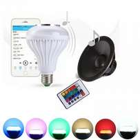 Remote Controlled LED Bulb with inbuilt Bluetooth Speaker