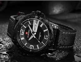 Executive Men's Watch (Leather Straps)