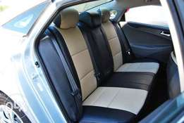 Car seat covers leather