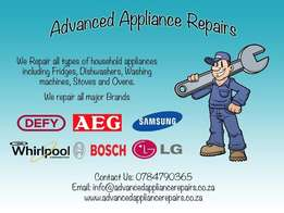 Appliance Repairs Done On Site