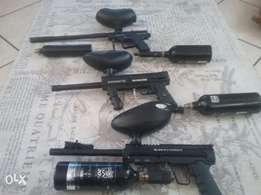 3 new paintball guns for sal or swop