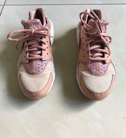 Różowo złote Nike Air Huarache damskie. Cena do negocjacji!