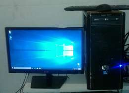 "Gaming Core i3 2120 at 3.30GHz/4GB Corsair DDR3/500GB HDD/DVD RW&19"" L"