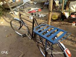 Locally assembled NEW bicycle with carrier