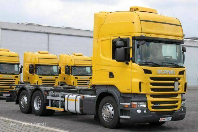 Scania R 440 6X2, Euro 6, BDF, Topline,Retarder - 2013