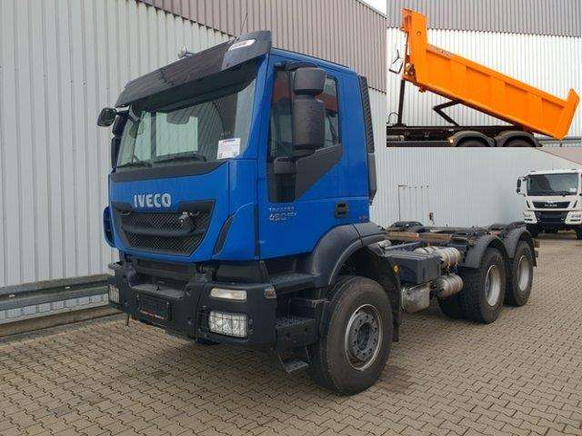 Iveco Magirus Trakker At260t41 6x4 Trakker At260t41 6x4, Intarder