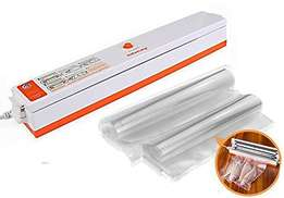 Food vacuum sealer (Including 15Pcs Bags)