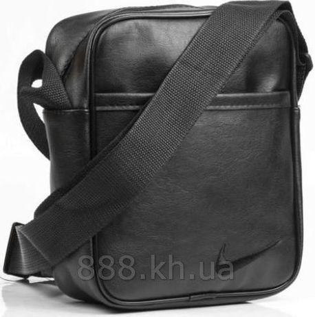 Акция! Мужская сумка через плече Найк кожа PU b66df1b89a8b0