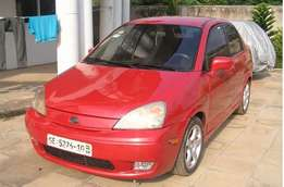 Suzuki Aerio 2003 Red for sale