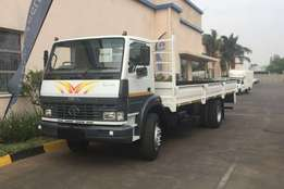 2009 Tata LPT1518 with Dropsides