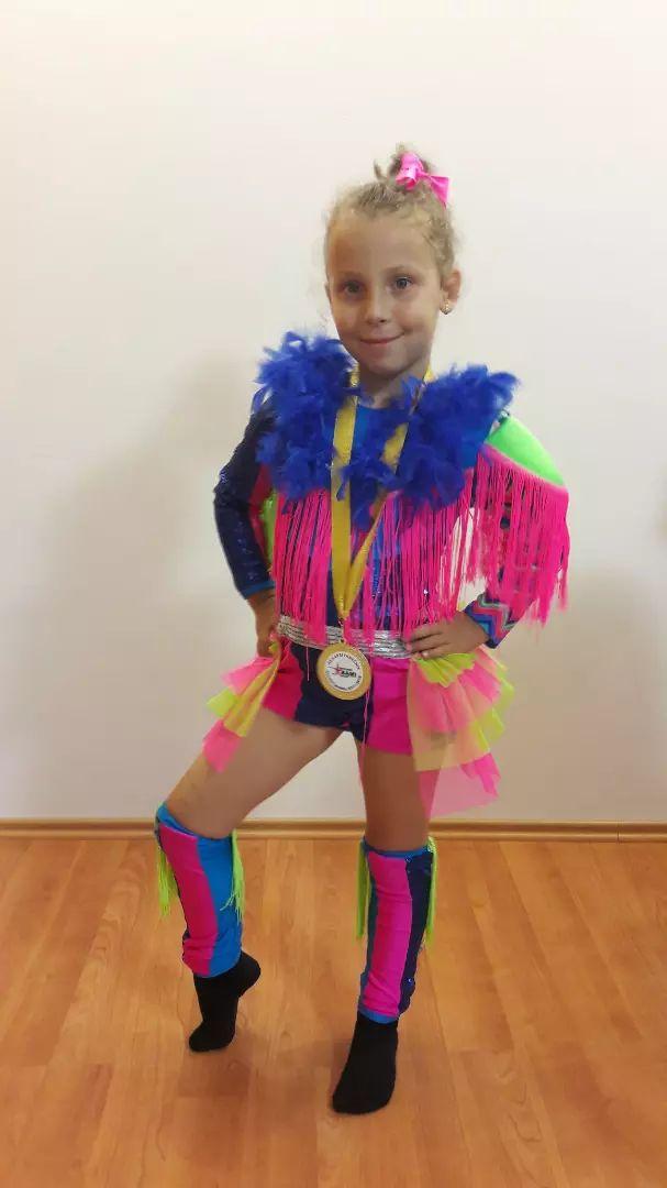 Tanecni kostym disco dance - Ostatní - 12732274  b9dd25d87c5