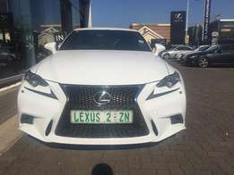 2015 LEXUS IS350 F-Sport, White with 46500km